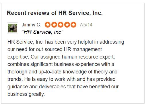 client hr service review