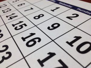 2021 compliance calendar
