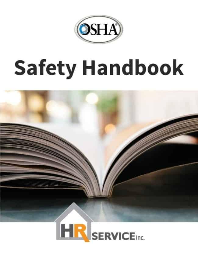 osha safety handbook by hr service