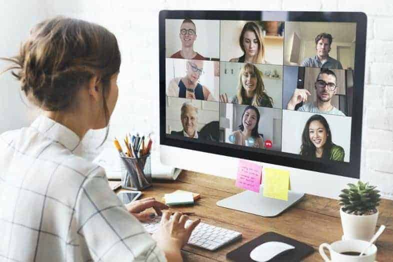 staying virtually connected positively